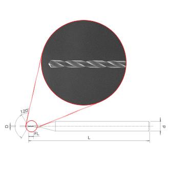 Picture of EXOCARB<sup>&reg;</sup> MAX-MINI UVM 5D Drills