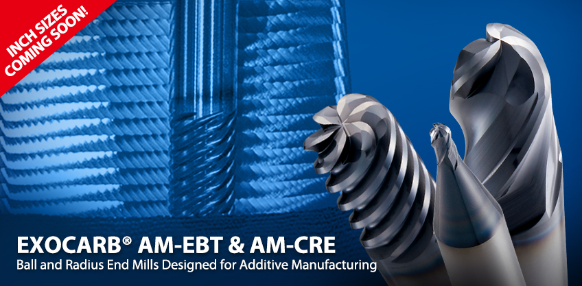 Additive Manufacturing End Mills